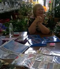 Barb at Clark Book Signing - July 2015
