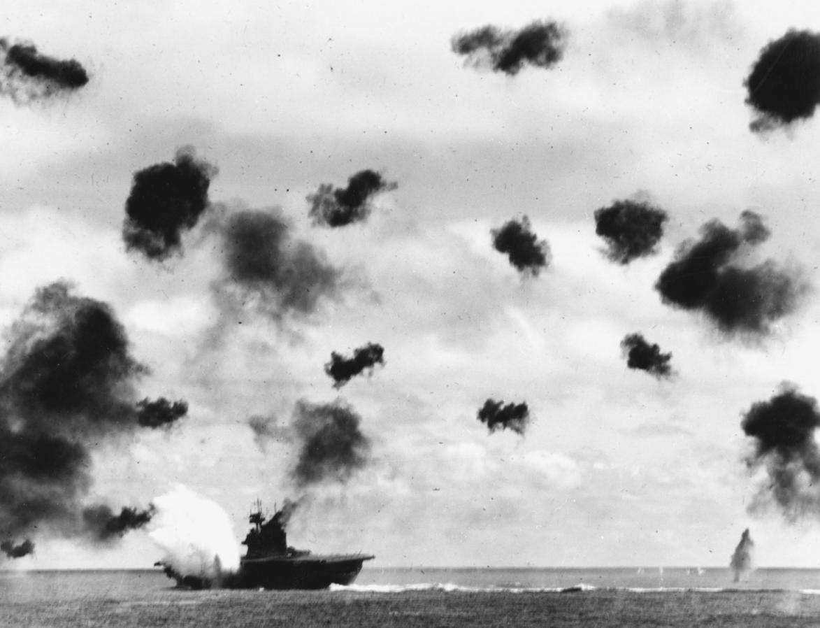 YorktownBombed-1942